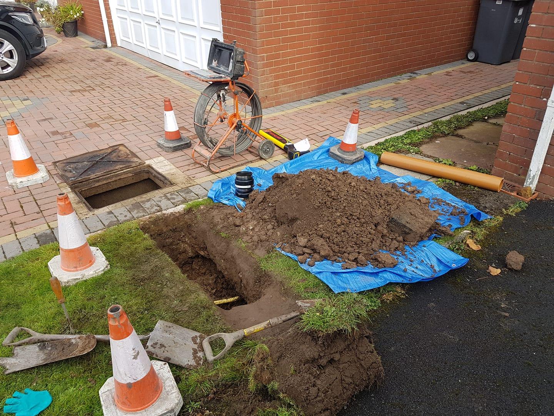 Drain Repairs in Preston
