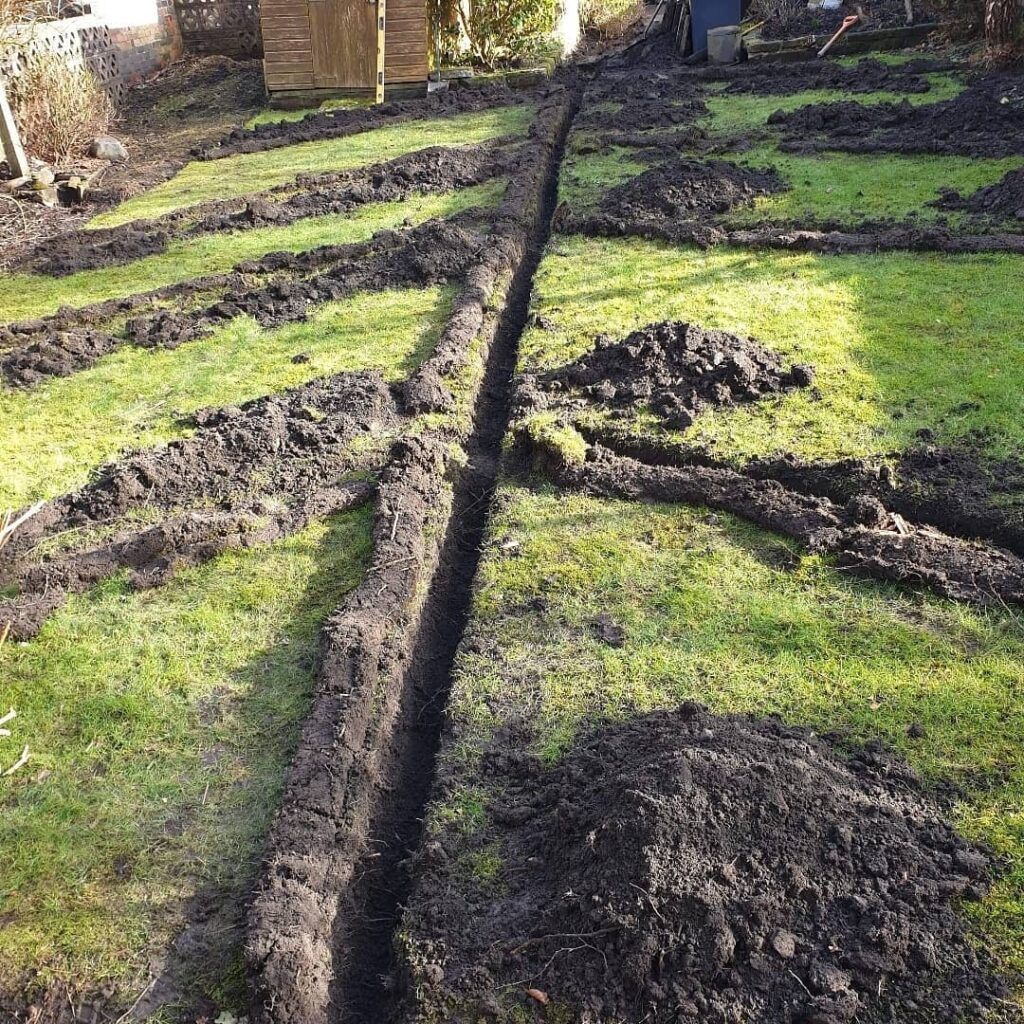 Land Drainage in Glossop